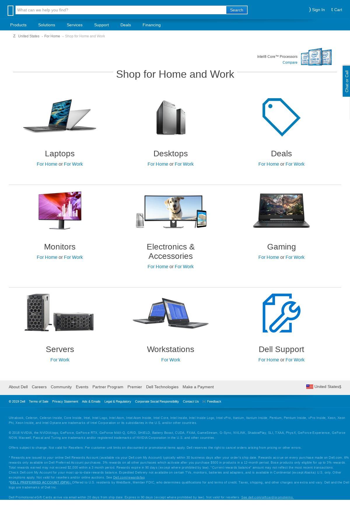 dell com Landing Page Design for Laptops & Tablets / Laptops